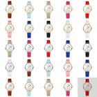 Women's Cute Rabbit Dial PU Leather Band Luxury Analog Quartz Round Wrist Watch