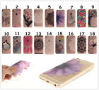 Flower Totem Tree Print Design Soft TPU Clear Phone Case For iPhone Xiaomi Redmi