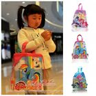 1PCS My Little Pony Kids Cartoon Drawstring Backpacks School Shopping Party Bags