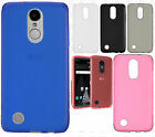 For LG Rebel 2 L57BL Frosted TPU CANDY Gel Flexi Skin Case Cover +Screen Guard