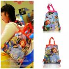 1PCS Sofia the First Kids Cartoon Drawstring Backpack School Shopping Party Bags