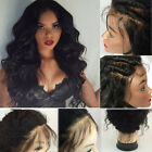 Hand Tied Full Lace Wigs Wave Curly Natural Hairline Wig With Baby Hair Hot Sold