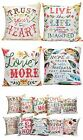 Artsy Poetic Quote Floral Quotes Pillow Boho Bohemian Accent Throw Home Decor image