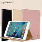 Pure Color Stand Smart Faux Leather Case Guardian For iPad Samsung Huawei Tablet