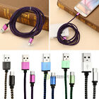 1-3M Data Sync Fast Charging Charger Cable Micro USB Cord For Samsung Android