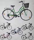 "Ladies 700c TOWN & COUNTRY Retro Vintage styling bicycle cycle Bike 18"" Frame"