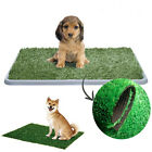 Indoor Puppy Pet Toilet Dog Grass Restroom Potty Training Litter Tray Loo Pad