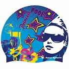 Aqua Sphere Princess Graphic Silicone Swim Pool Training Swimming Cap