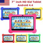 7'' Quad Core HD Android 4.4 Kids Tablet For Kitoch Dual Camera WiFi GIFT New