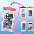 Underwater Waterproof Bag Pack Dry Phone Pouch Clear Case For iPhone Galaxy
