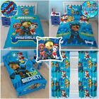 PAW PATROL SPY BEDROOM RANGE - DUVET COVER SETS JUNIOR, SINGLE, DOUBLE, CURTAINS