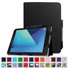 Samsung Galaxy Tab S3 9.7  SM-T820 / T825 Leather Smart Case Cover W/ Pen Holder