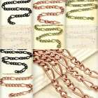2m 6.56feet Open Link Unfinished Curb Chain Bulk Jewelry Necklace Findings YB