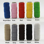 30 Meters Shock Cord Paracord Round Elastic Stretch Beading String 1mm Thread