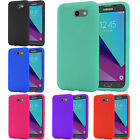 For Samsung Galaxy J3 PRIME Rugged Rubber SILICONE Soft Gel Skin Case Cover