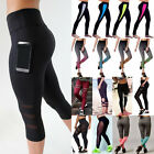 Usps Women High Waist Yoga Fitness Leggings Running Gym Sports Pants Trousers Us