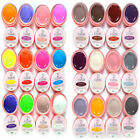 Pro 12pcs/box Solid Pure Mixed Color UV Gel Kit for Nail Art Manicure Tips Tool