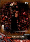 2017 Topps WWE Road to Wrestlemania Bronze parallel you pick