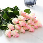Artificial Rose Silk Latex Real Touch Fake Flower Wedding Party Home Decor 10/20