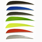 SAS 4-in Parabolic RW Feathers Solid Color Arrow Fletching - 1DZ - Made In US