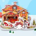 3D Christmas Kids DIY Gifts Vintage Jigsaw Puzzles Western Style House NEW S