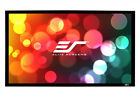 "Elite Screens 106"" 16:9 Sable Fixed Frame Home Theater Projector Screen ER106WH1"