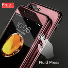 Full Body Protect Tempered Glass Cover Ultra thin Mirror For iphone 6/6S/7 case