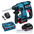 Bosch Hammer Drill Battery GBH 18 V-EC Li Incl L-Box , 2xakku 4,0Ah and Charger