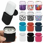 Silicone Case Shockproof Protective Cover Skin For Apple AirPods Charging Case