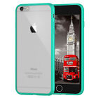 Silicone Rubber Frosted Bumper Case Cover For iPhone 4 4s 5 5s SE 5C 6 6S Plus <br/> 24 Hour Offer  |  FREE Delivery + FREE Screen Shield