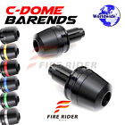 6Color CNC Dome Bar Ends Sliders For ZX-6R Ninja 2007-2010 07 08 09 10
