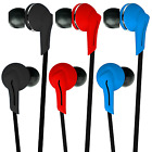 G-Shield® RX-651 In-Ear Stereo Earphones Noise Isolating Headphones iPhone iPod