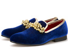 Fashion Mens Slip On Beads Loafers Dress Formal Shoes Oxford Wedding Party Pumps