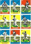 2007 Topps Flashback Fridays Baseball cards - Complete Your Set !!