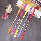 5 Set Toddler Baby Beads Dummy Pacifier Clip Chain Holder Soother Nipple Strap