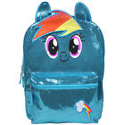 "MY LITTLE PONY RAINBOW DASH 16"" FullSize Backpack w/Optional Insulated Lunch Box"
