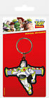 Official Toy Story Keyring - Rubber Keychain- Key Finder Buzz Lightyear Woody