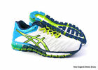 Asics womens Gel-Quantum 180 running shoes sneakers White Lime Turquoise