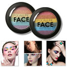 WOMEN SHIMMER HIGHLIGHTER POWDER FACE BRIGHTENER FACIAL MAKEUP RAINBOW COLOR ACT