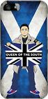 Queen of the South Casuals + Hooligans Brand New clear Plastic Phone Case.