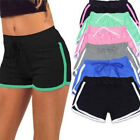 Women Cotton Pants Sports Shorts Gym Workout Waistband Fitness Beach Mini Pants