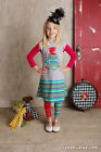 NWT Lemon Loves Lime Alice in Wonderland Jester Cat & the Hat Gray Dress sz 4 6