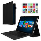 Microsoft Surface Pro 2017 Surface Pro 4 3 Case Folio Stand Cover Stylus Holder