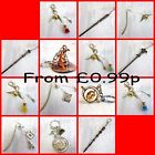 Harry Potter Movie Inspired KEYRINGS, CHARMS, BOOKMARKS, JEWELLERY UK