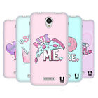 HEAD CASE DESIGNS PASTEL OVERLAYS SOFT GEL CASE FOR LENOVO A PLUS