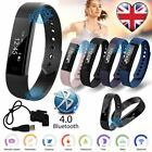 Smart Bracelet Watch Fitness Activity Tracker Wristband Calorie Counter Monitor <br/> IP67 Waterproof*Touch OLED screen*Call ID &amp; SMS display