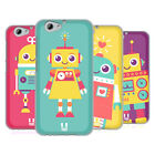 HEAD CASE DESIGNS ROBOT KIDS SOFT GEL CASE FOR HTC ONE A9s
