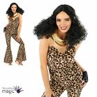 Ladies Womens Adult 90s Pop Scary Spice Fancy Dress Costume Outfit Animal Print