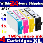 HP 364 COMBO-PACK 4 HP 364 INK CARTRIDGES FOR HP PHOTOSMART PRINTER WITH CHIP