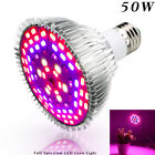 US 30W 50W 80W LED Grow Light E27 Lamp Bulb for Plant Hydroponic Full Spectrum
